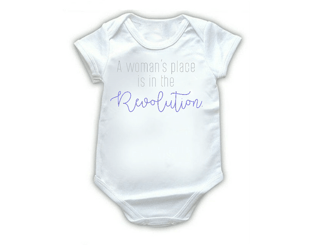 Ropa Bebe Body Bodie womans revolution Baby Monster