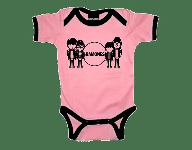 Ropa Bebe Body Bodie rock Ramones Band Baby Monster