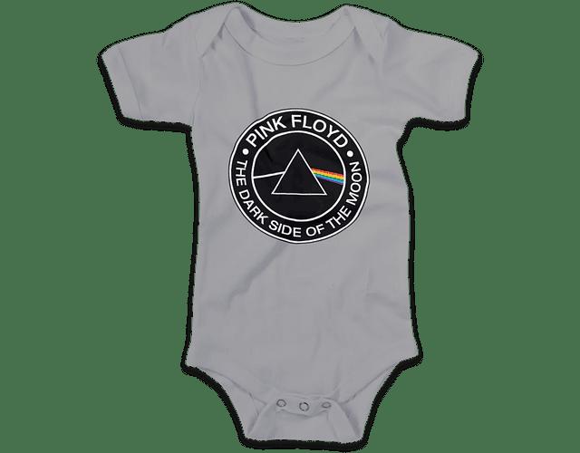 Ropa Bebe Body Bodie Pink Floyd Dark side Baby Monster