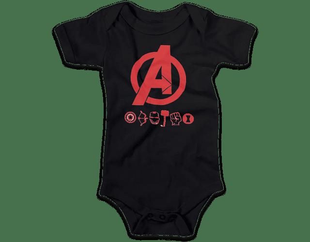 Ropa Para Bebe Body Bodi Avengers Baby Monster