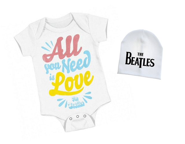 set ropa para bebe rock the beatles  - Baby monster