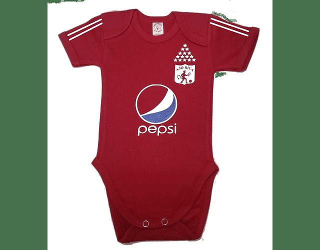 Ropa Para Bebe Body Bodie Futbol América de Cali 2021