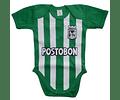 Ropa Para Bebé Body Bodie Atlético Nacional Baby Monster