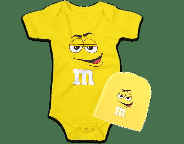 Ropa Para Bebe conjunto bodi y gorro M and M Baby Monster