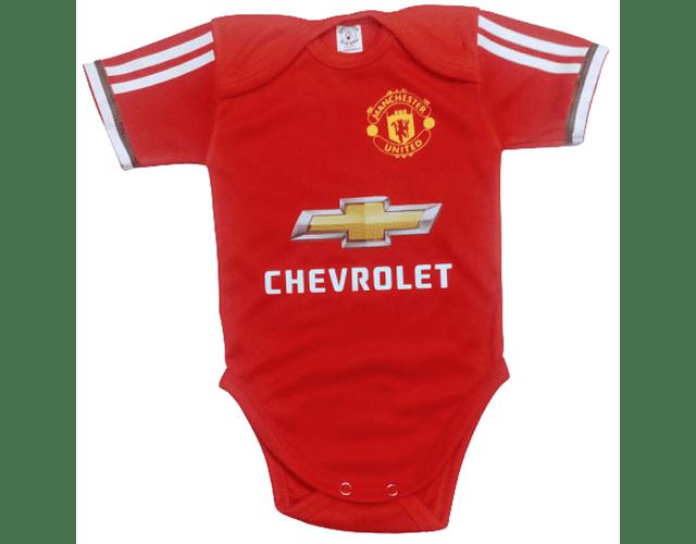 Ropa Para Bebe Body Bodie Futbol Manchester united Baby Monster