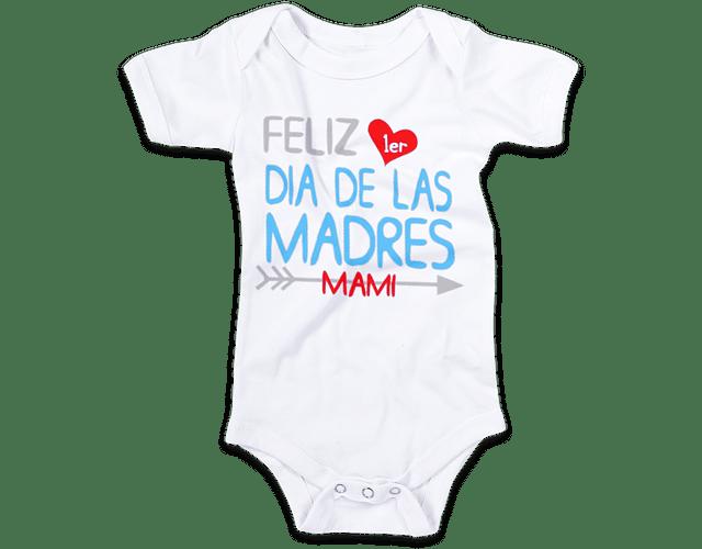 Ropa Para Bebe Body feliz primer dia de las madres