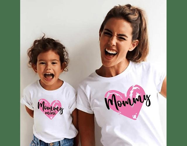camiseta para mama e hija regala kit para mamá  Mommy mommy mini