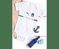 Body para bebe selección italia eurocopa 2021