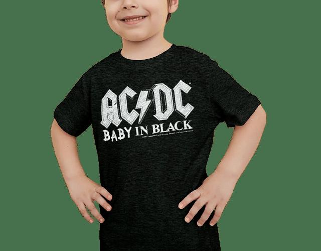 camisetas para familia Mamá  papá y bebe AC/DC