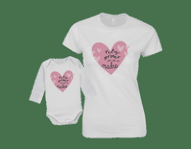 body kit Mamá y bebe Feliz primer día de las madres corazon baby monster