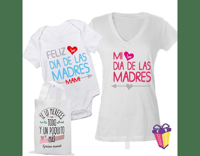 body kit Mamá y bebe Feliz primer día de las madres