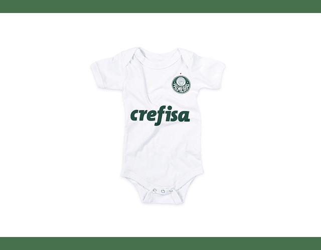 Ropa Bebe Body Bodie Palmeiras 2021 Baby Monster
