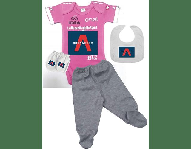 Set Primera Muda Giro de Italia Para Bebe