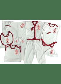 Set Primera Muda Futbol America Ropa Para Bebe Baby Monster
