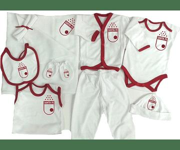 Set Primera Muda Futbol santa fe Ropa Para Bebe Baby Monster
