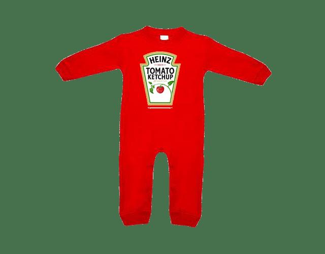 Ropa Para Bebe pijama salsa de tomate, mayonesa y mostaza