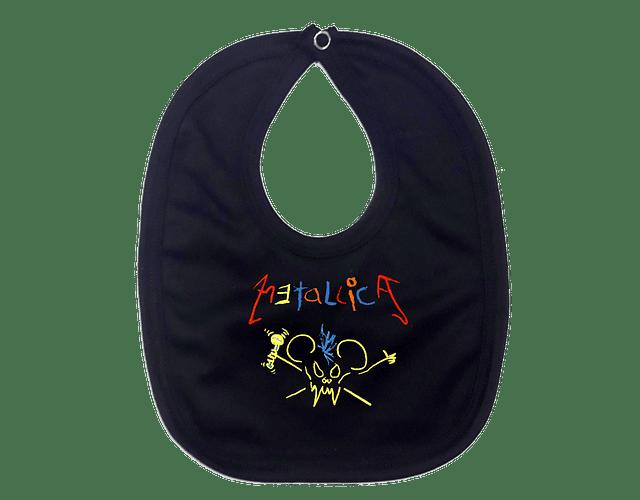 Ropa Para Bebe Baberos metallica crayola Baby Monster