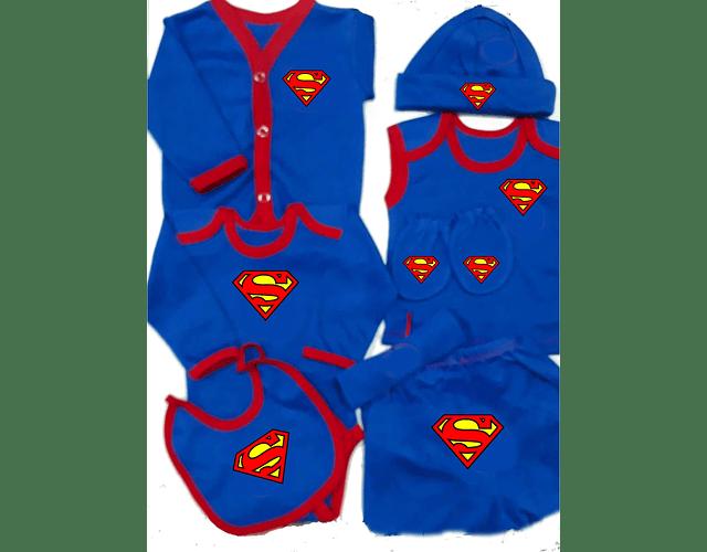 Set Primera Muda comics Superman Ropa Para Bebe Baby Monster