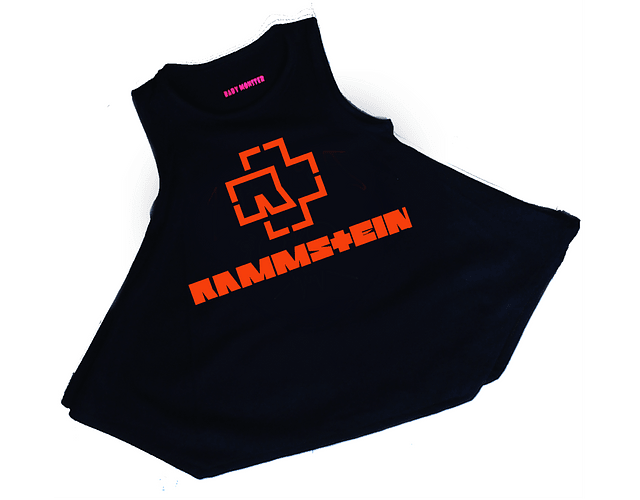 vestidos para bebe rock Rammstein