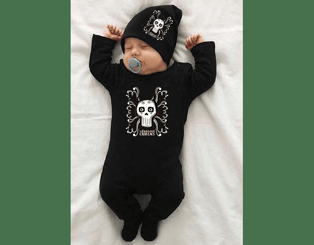 ropa para bebe conjunto pijama gorro fabulosos cadillacs