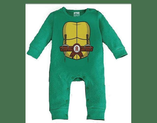 Ropa para bebe pijama bebe tortuga ninja baby monster