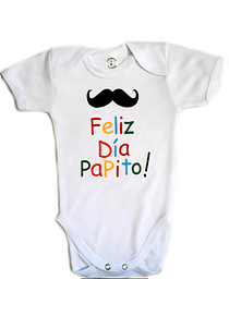 Ropa Para Bebe Body Bodie Feliz Día Papito Baby Monster b414989e893