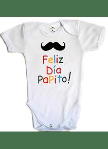 Ropa Para Bebe Body Bodie Feliz Día Papito Baby Monster