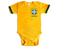 Body para bebe selección Brazil 2018