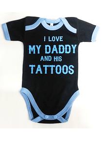 Ropa Para Bebe Body Bodie Tattoos Rock Baby Monster