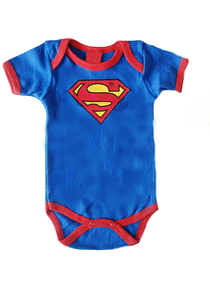 Ropa Bebe Body Bodie Superman Baby Monster