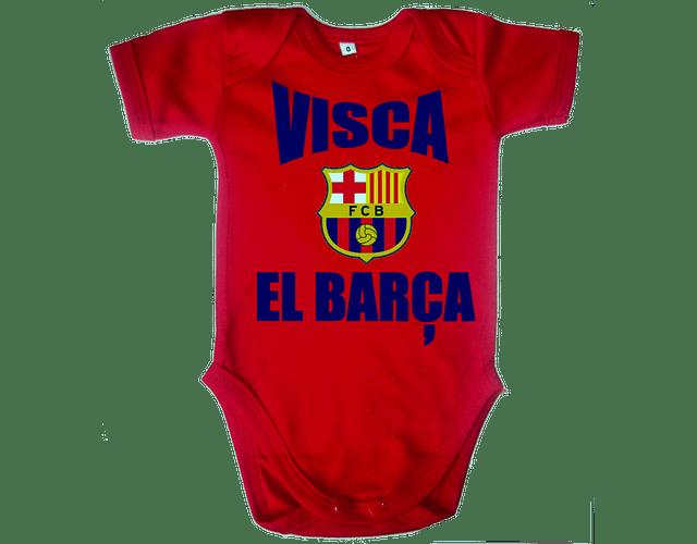 Ropa Para Bebe Body Bodie Futbol Viva Barcelona Baby Monster
