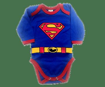 Body Bodie Superman Manga Larga Baby Monster