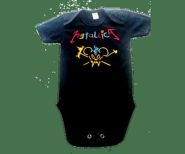 Ropa Para Bebé Body Bodie Rock Metallica Crayola Baby Monster