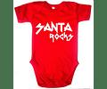 Ropa Bebe Body Bodi Navidad rock Baby Monster