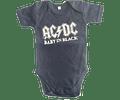 Ropa Bebe Body Bodi rock AC/DC Baby Monster