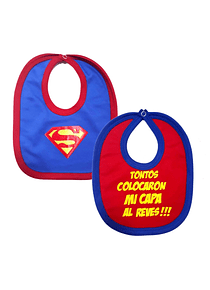 Ropa Para Bebe Baberos superman y capa  Baby Monster