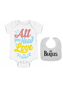 set ropa para bebe rock the beatles  - Baby monster​​​