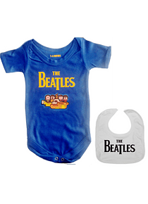 set ropa para bebe rock yellow submarine the beatles