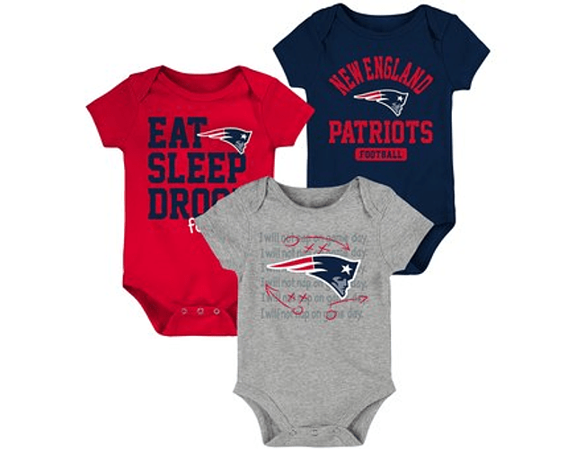 Set 3 BODI SUPERBOWL NEW ENGLAND PATRIOTS