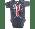 Ropa Bebe Body Bodi rock AC/DC Uniform ANGUS  Baby Monster