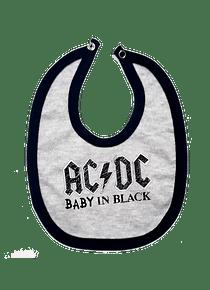 Ropa Para Bebe Baberos AC/DC Baby Monster