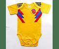 Ropa para bebé Body Bodie SELECCIÓN COLOMBIA 2018 -Amarillo -