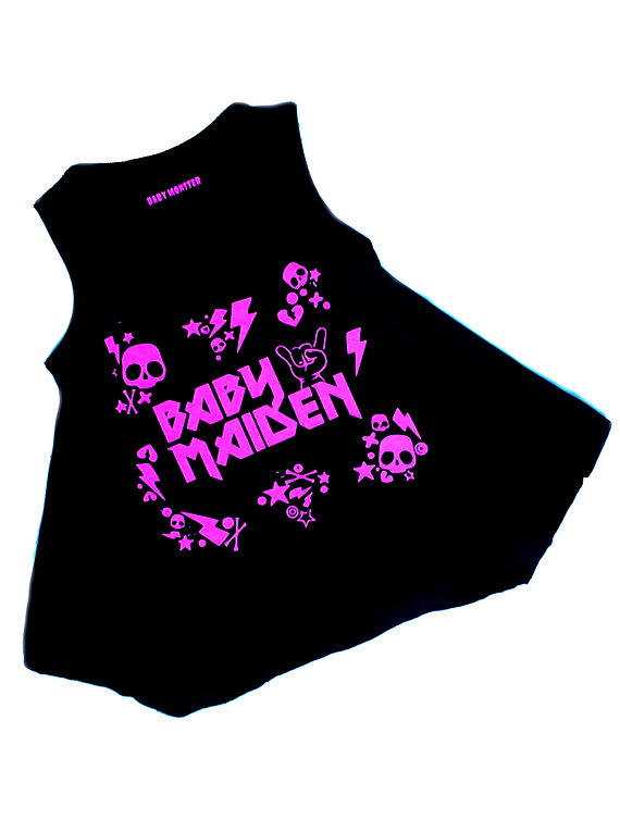 vestidos para bebe rock Baby maiden