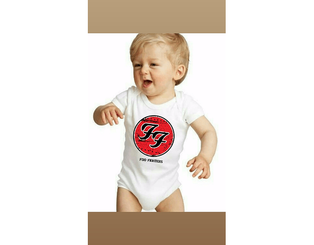 Ropa Bebe Body Bodie rock foo fighters Baby Monster
