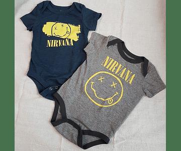Set 2 Bodi rock Nirvana- Baby Monster