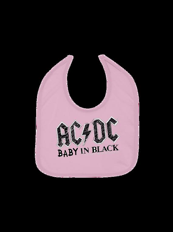 Ropa Para Bebe niña Baberos AC/DC Baby Monster