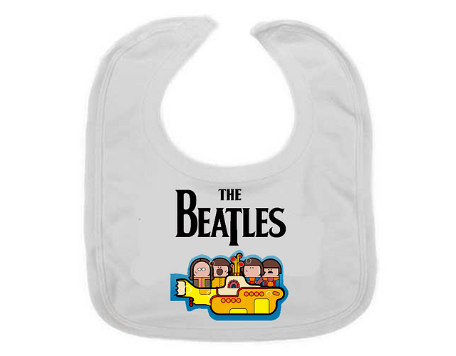 Ropa Para Bebe  Baberos Yellow submarine Baby Monster
