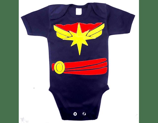 Ropa Para Bebe Body Bodie Capitana Marvel Baby Monster