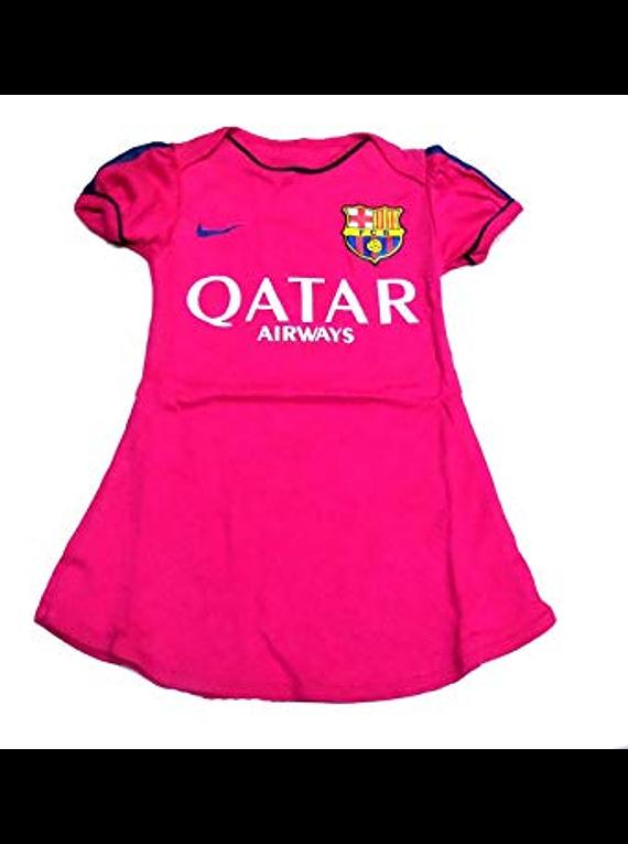 vestidos para bebe futbol barcelona