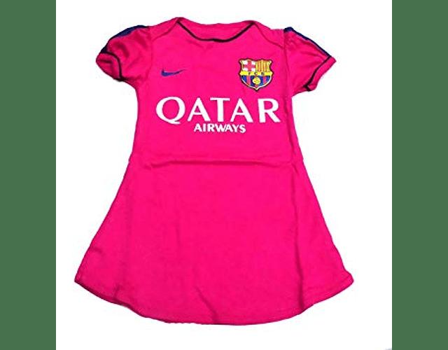 Vestidos para bebé futbol Barcelona